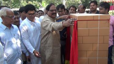 জয়পুরহাটে ভাদশা ইউনিয়ন পরিষদ ভবন নির্মাণ কাজ শুরু