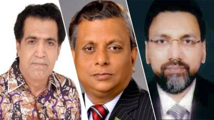 আব্দুর রাজ্জাক, আরিফুল হক ও ডা. শাহরিয়ার হোসেন