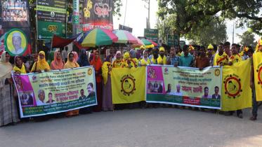 প্রধানমন্ত্রী 'ভ্যাকসিন হিরো' হওয়ায় চুয়াডাঙ্গায় আনন্দ র্যালি