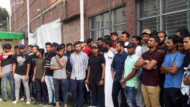 বেতন বাড়াতে ধর্মঘটে যাওয়া হুমকি বাংলাদেশি ক্রিকেটারদের