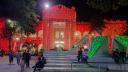 ১৪তম প্রতিষ্ঠাবার্ষিকী, বর্ণিল সাজে জবি ক্যাম্পাস