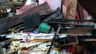 ময়মনসিংহে গুদামে অগ্নিকাণ্ড, কর্মচারী নিহত