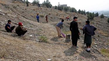আফগানিস্তানে বিস্ফোরণে ৯ স্কুলছাত্রের মৃত্যু