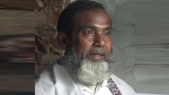 নির্যাতনের শিকার প্রবীণ শিক্ষক নাসিম উদ্দিন (৫৮)