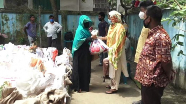 কুমিল্লায় আরও ১২শ পরিবার পেল খাদ্য সহায়তা