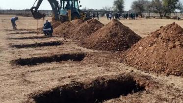 আগাম ১৫ লাখ কবর খুঁড়ে রাখছে দক্ষিণ আফ্রিকা