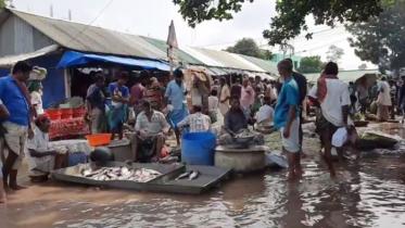 গাজীপুরে নদ-নদীর পানি বৃদ্ধি অব্যাহত, ১০২ গ্রাম প্লাবিত