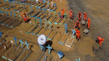 ব্রাজিলে আরও ১২শ' মৃত্যু, আক্রান্ত ৪০ লাখ ছাড়িয়েছে