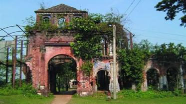 সংস্কার জরুরি গৌরীপুরের রাম গোপালপুর জমিদার বাড়ি