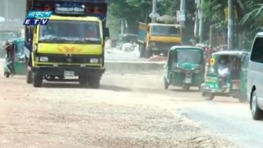 থমকে আছে চৌমুহনী-সোনাপুর সড়ক উন্নয়ন (ভিডিও)