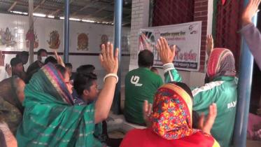 বগুড়ায় ভাষা শহীদদের আত্মার শান্তিতে প্রার্থনা