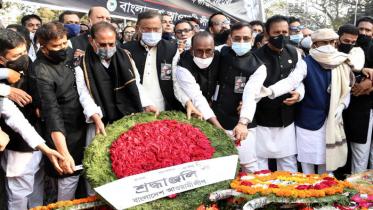 'শেখ মুজিবুর রহমান রাষ্ট্রভাষা বাংলার দাবি উপস্থাপন করেছিলেন'