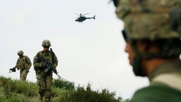আফগান বাহিনীকে সহযোগিতায় যুক্তরাষ্ট্রের বিমান হামলা : পেন্টাগন
