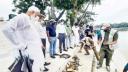 খানজাহান আলী মাজার দিঘিতে ৭৩টি সন্ধি কচ্ছপ অবমুক্ত