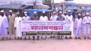 লঞ্চডুবিতে জড়িতদের শাস্তির দাবিতে বরিশালে মানববন্ধন