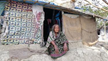 মাথা গোঁজার ঠাই নাই পঁচানব্বই উর্ধ্ব আছিয়া বেগমের