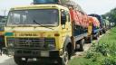 বেনাপোলে রফতানি পণ্য বোঝাই শত শত ট্রাক সড়কে, তীব্র যানজট