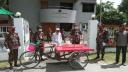 চুয়াডাঙ্গায় সীমান্তের কর্মহীন মানুষের পাশে বিজিবি
