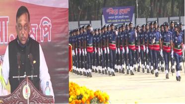 যেকোনো চ্যালেঞ্জ মোকাবেলায় প্রস্তুত পুলিশ: স্বরাষ্ট্রমন্ত্রী