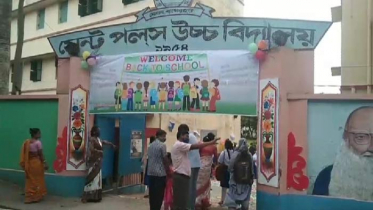 মোংলায় সকাল ৮টার আগেই শিক্ষার্থীরা গেল শ্রেণীকক্ষে