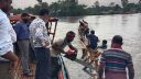 আত্রাই নদী থেকে ৩টি সোঁতিজালের বাঁধ অপসারণ