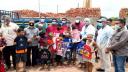 নবাবগঞ্জে শিক্ষার্থীদের মাঝে শিক্ষা উপকরণ বিতরণ