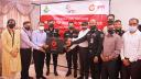 র্যাব সদস্যদের সুরক্ষা সামগ্রী উপহার দিল 'নগদ'