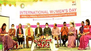 নানা আয়োজনে রেড ক্রিসেন্টের আন্তর্জাতিক নারী দিবস পালন