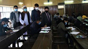 স্বাস্থ্যবিধি মেনেই শাবি'র সেমিস্টার ফাইনাল পরীক্ষা শুরু