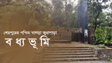 অবহেলা অযত্নে শেরপুরের পশ্চিম ঘাগড়া কুনাপাড়া বধ্যভূমি
