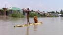 সিরাজগঞ্জে যমুনায় পানি কিছুটা কমলেও, দুর্ভোগে ২৫ হাজার মানুষ