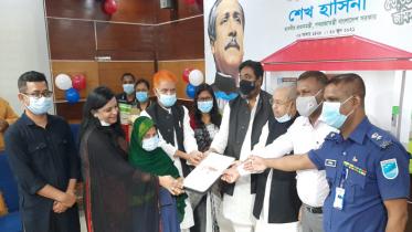 টাঙ্গাইলে নতুন ঘর পেল ১১৩০ গৃহহীন পরিবার