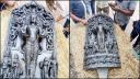 ঠাকুরগাঁওয়ে ২৫০ কেজি ওজনের মূর্তি উদ্ধার