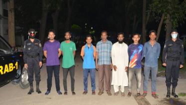 নিষিদ্ধ সংগঠন 'আল্লাহর দল'র ৭ সদস্য তিন দিনের রিমান্ডে