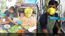 করোনার থাবায় প্রতিভাবান ফুটবলার এখন সবজি বিক্রেতা