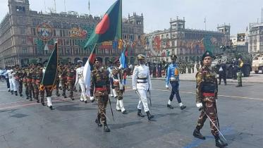 মেক্সিকোর স্বাধীনতার ২০০ বছর উদযাপনে বাংলাদেশ সশস্ত্র বাহিনী