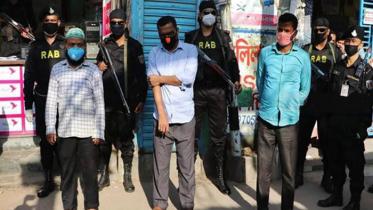 টাকার বিনিময়ে করোনা সনদ সরবরাহকারী ৪জন কারাগারে