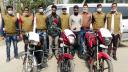 রাজবাড়ীতে ৩টি চোরাই মোটরসাইকেলসহ আটক ২