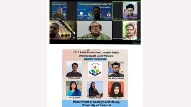 আন্তর্জাতিক রিসার্চ গ্র্যান্ড প্রাপ্ত ববির ৫ শিক্ষার্থীকে সংবর্ধনা