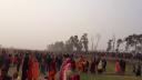 ধামইরহাট সীমান্তে জমল দুই বাংলার মিলনমেলা