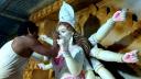 সরাইলে চলছে প্রতিমা শিল্পীদের তুলির শেষ আঁচড়
