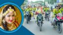 বিয়ের সাজে ভাইরাল লেডি বাইকার'র অজানা খবর (ভিডিওসহ)