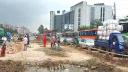 গাজীপুরে ঢাকা-ময়মনসিংহ মহাসড়কে দীর্ঘ যানজট