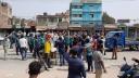 জাতীয় বিশ্ববিদ্যালয় গেটে শিক্ষার্থীদের বিক্ষোভ ও মহাসড়ক অবরোধ