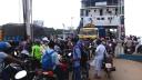 দৌলতদিয়া-পাটুরিয়া নৌরুটে যানবাহন ও যাত্রীদের ভীড়