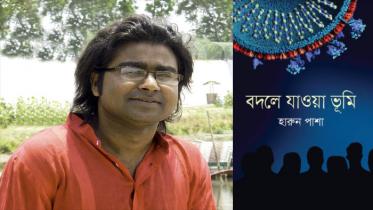বইমেলায় হারুন পাশার নতুন উপন্যাস 'বদলে যাওয়া ভূমি'