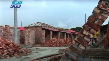 মুন্সীগঞ্জে আশ্রয়ণ প্রকল্পের ঘর নির্মাণে অনিয়ম দুর্নীতি (ভিডিও)