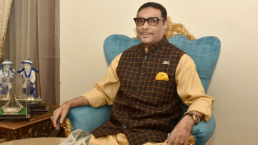 বিএনপি এখন লাইফ সাপোর্টে : ওবায়দুল কাদের