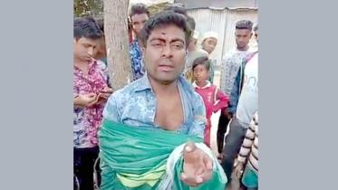 সুনামগঞ্জে সংবাদকর্মীকে গাছে বেঁধে নির্যাতন
