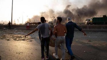 লেবাননে বিস্ফোরণ : আহত নৌবাহিনীর সদস্যরা শঙ্কামুক্ত